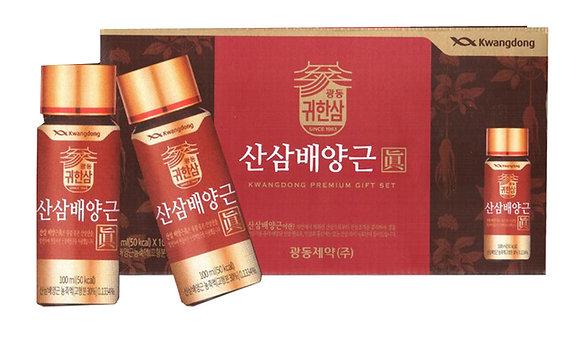 Kwangdong wild ginseng 1box (100ml x 10)