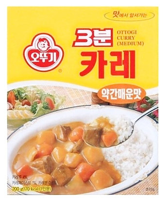 Ottogi 3-minute curry (Medium Spicy) 200g