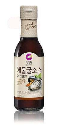 Chungjungone Seafood Oyster Sauce(nutty flavor) 250g