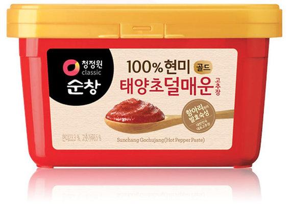 [KJ065] 청정원 순창 덜매운 고추장 500g