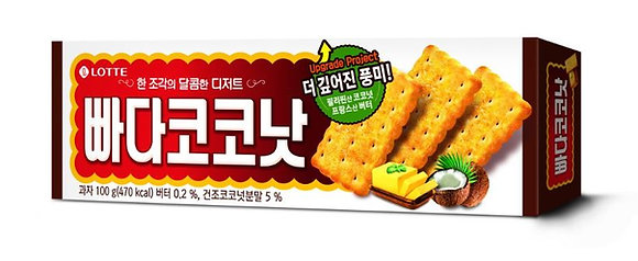 Lotte Butter coconut biscuits 100g