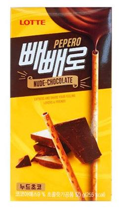 Lotte Pepero-Nude Chocolate 50g