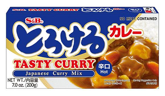 S&B Tasty Curry (Hot) 200g