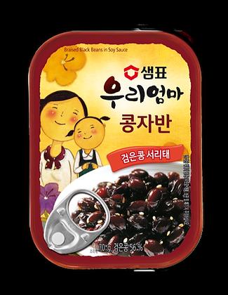 Sempio My Mom Braised Black Beans in Soy Sauce 70g