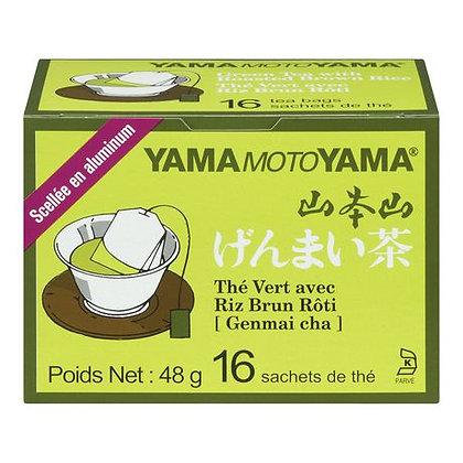 [JA024] Yamamotoyama Genmai-cha 16pcs