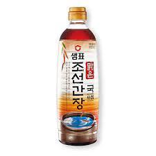[KJ216] 샘표 맑은 조선간장 500ml