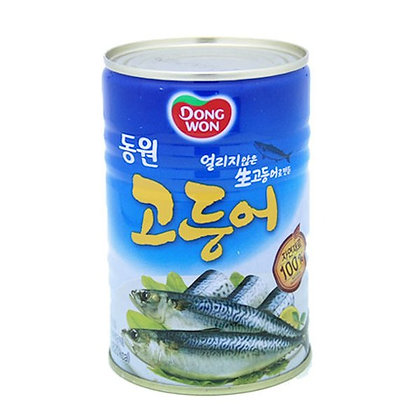 Dongwon Boiled Mackerel 400g