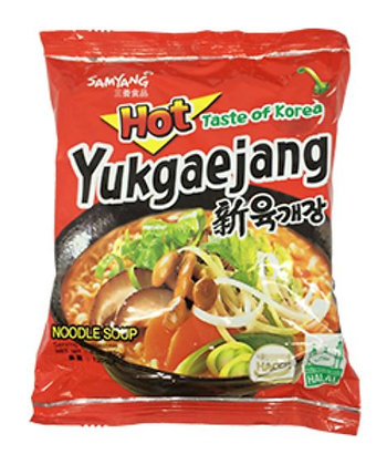 Samyang NEW Spicy Stew Ramyun(Yukgaejang) 120g