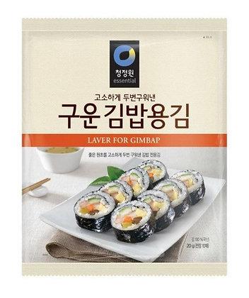 [KS014] 청정원 구운 김밥용김 20g (10매)