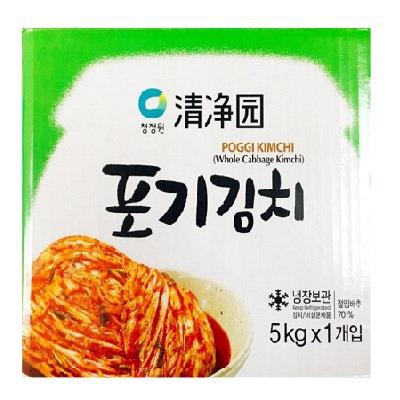 [KK021] 청정원 포기김치 5kg