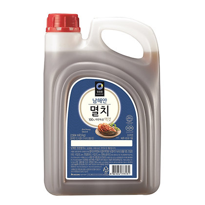 Chungjungone Anchovy Fish Sauce 3kg