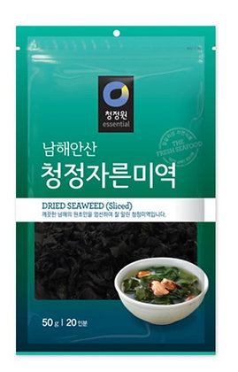 [KS031] 청정원 청정자른미역 50g