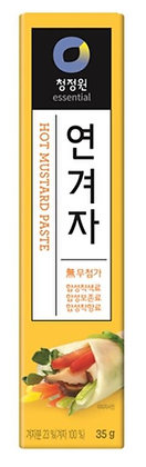 [KJ105] 청정원 연겨자 (튜브) 35g
