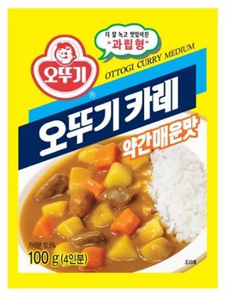 Ottogi Curry Powder(Medium Spicy)100g