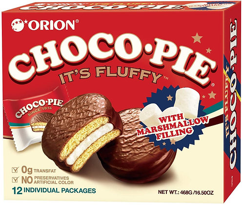 Orion Choco Pie (12 packs) 468 g