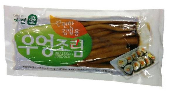 [KK044] 자연애 간편한 김밥용 우엉조림 150g