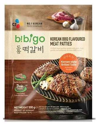 Bibigo Korean BBQ Flavored Meat Patties 500g