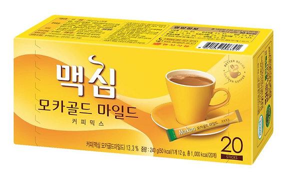 Maxim Mocha Gold Mild Coffee Mix (20ea)