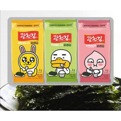 [KS061] 광천김 카카오프렌즈 재래도시락김 5g*3봉