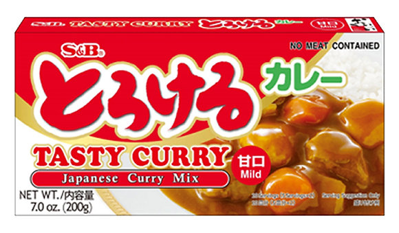S&B Tasty Curry (Mild) 200g
