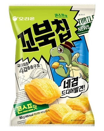 [KQ090] 오리온 꼬북칩 콘스프맛 80g