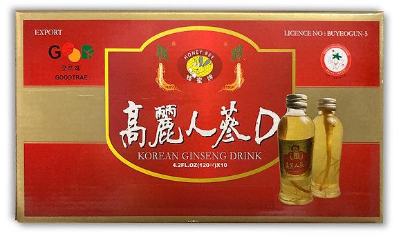 Koreasusan Ginseng Drink 1box (120ml x 10)
