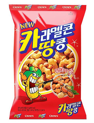 Crown Caramel and Peanut Snack 72g