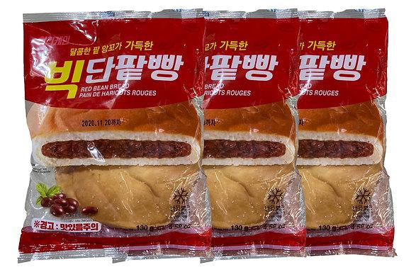 Hurricane Big Red Bean Bread Multibag(3 pieces) 390g