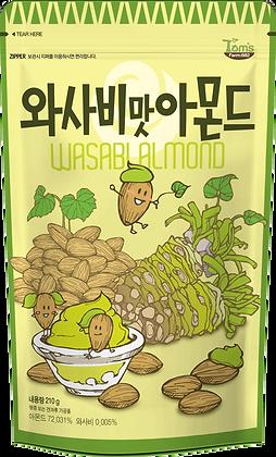 Tom's Gilim Wasabi Flavored Almond 210g