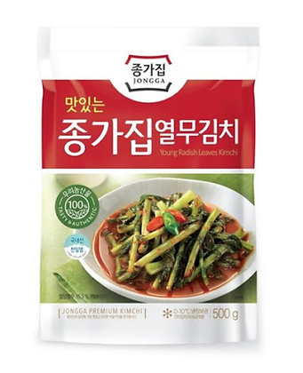 JONGGA Young Radish Leaves Kimchi 500g
