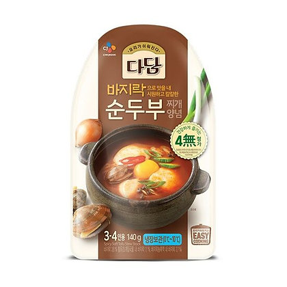Cj Dadam Clam Soft tofu stew Sauce 140g