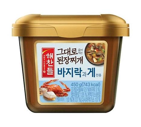 Cj Haechandle Clam and Crustacean Flavor Soybean Paste for Soup 450g