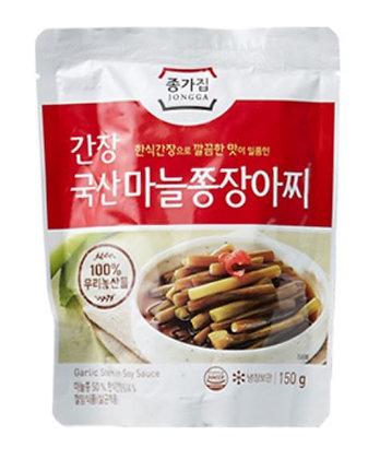 JONGGA Garlic stems pickles 150g