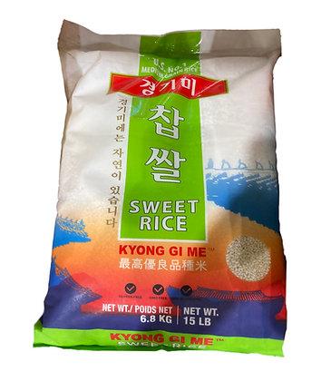 Gyonggimi Glutinous rice 6.8kg (15LB)