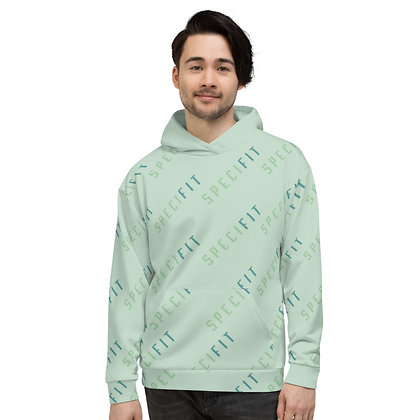 SPECIFIT All Over Unisex Hoodie (Mint Green)