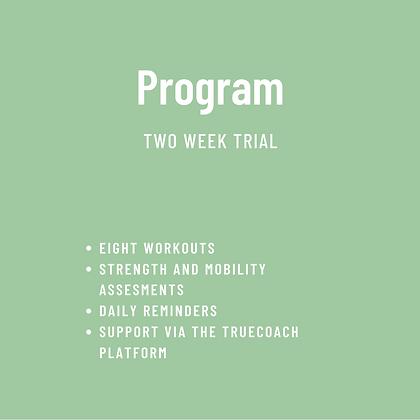 Program Two Week Trial