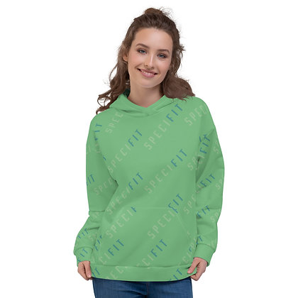 SPECIFIT All Over Unisex Hoodie (Light Green)