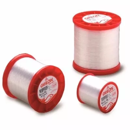 LINHA NYLON GRILON TOP FLEX UV 250g 0,35mm 2050m