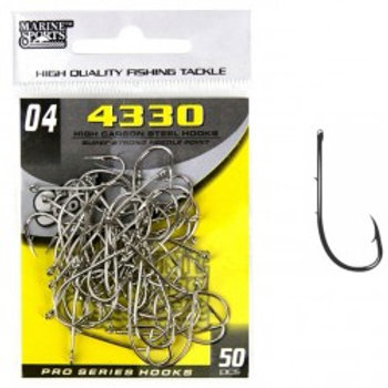 ANZOL MARINE SPORTS 4330 SUPER STRONG 04 com 50pcs