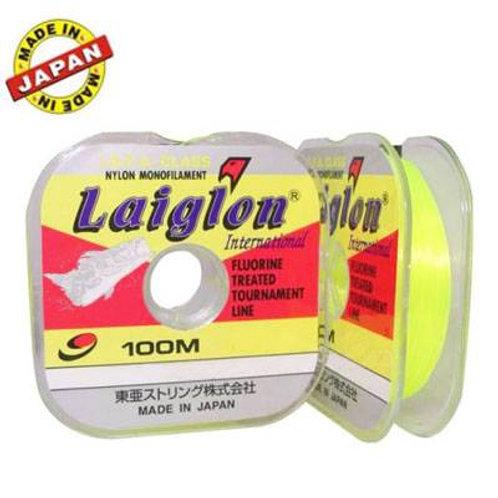 LINHA NYLON LAIGLON 0,435mm 15kg 100m