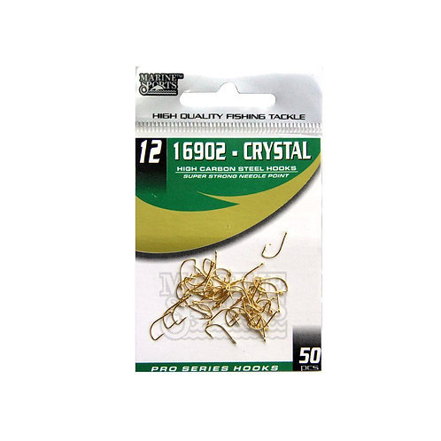 ANZOL MARINE SPORTS 16902 CRYSTAL 12 com 50pcs