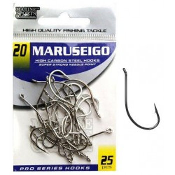 ANZOL MARINE SPORTS MARUSEIGO NICKEL 20 com 25pcs