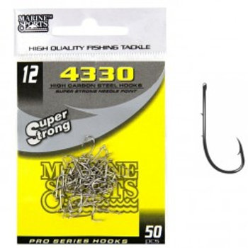 ANZOL MARINE SPORTS 4330 SUPER STRONG 12 com 50pcs