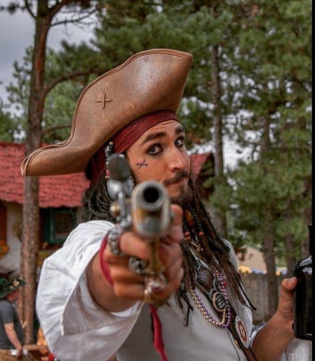 Captain Jack Sparrow at the Colorado Renaissance Festival