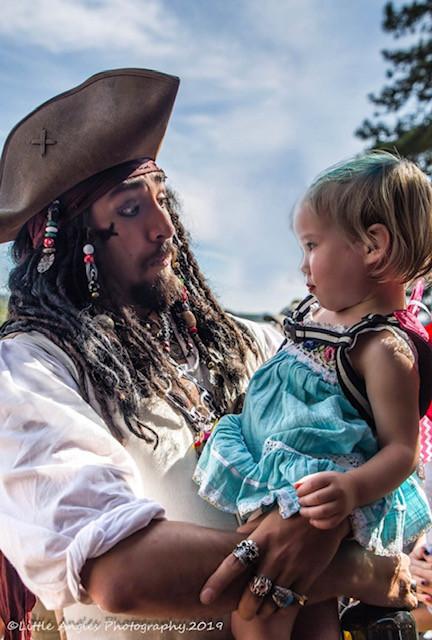 Capt. Jack at Colorado Ren Faire