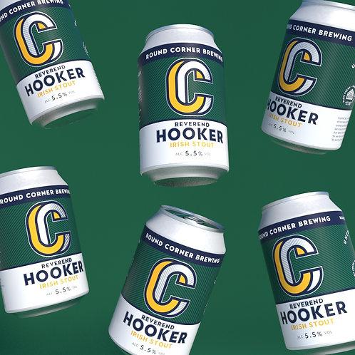 Rev. Hooker 5.5% Irish Stout - Case of 24x 330ML