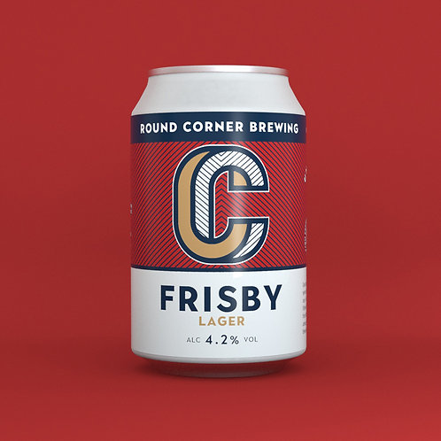 Frisby 4.2% Lager -330ML can