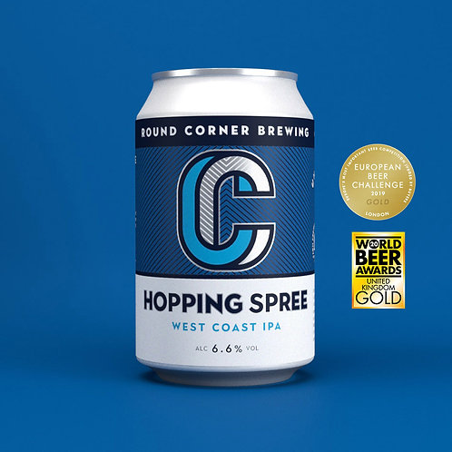 Hopping Spree – West Coast IPA 6.6%