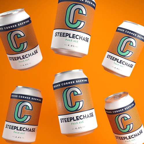 Case of 24x 330ML cans of Steeplechase 4.4% Pale Ale