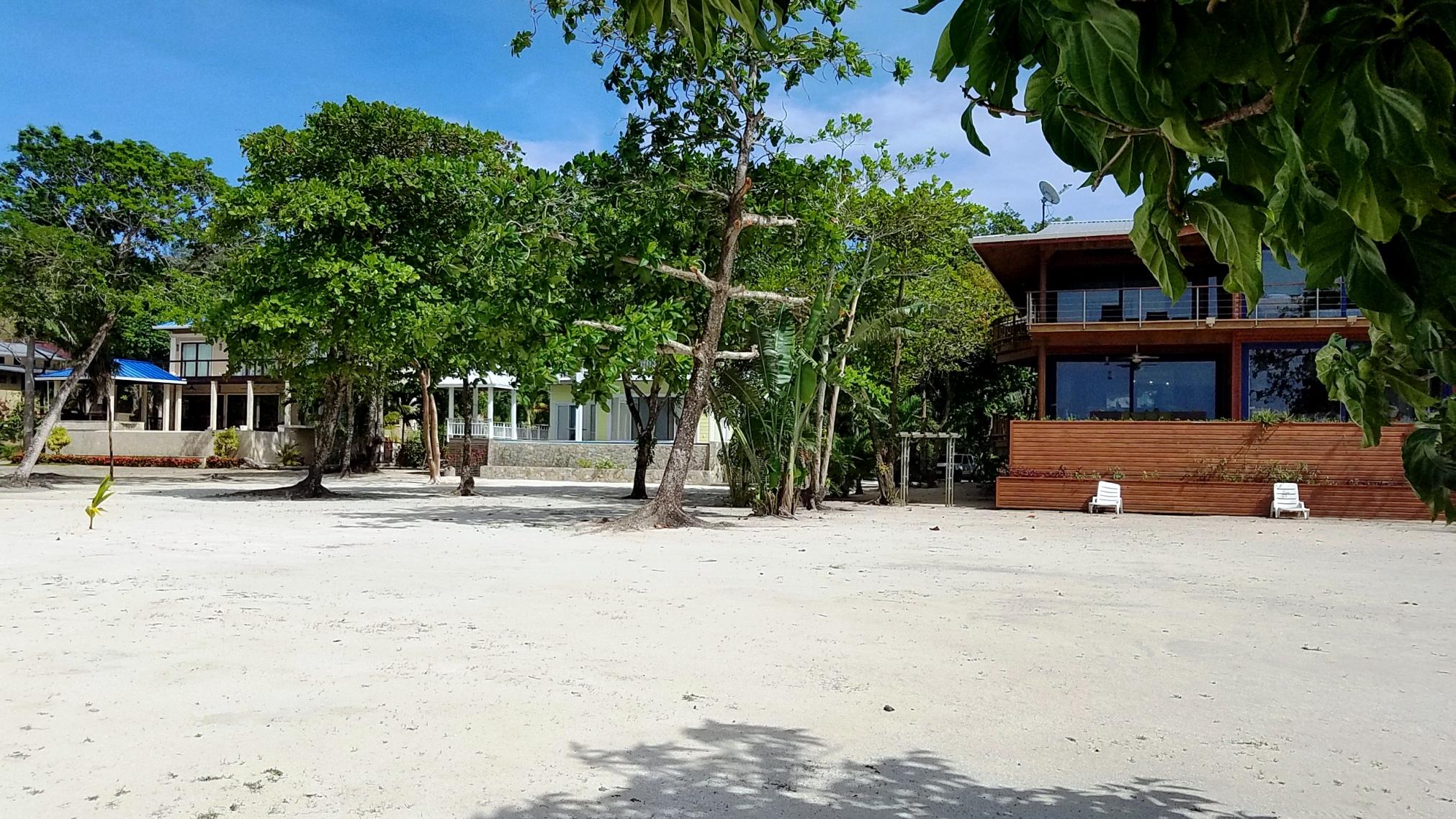 Beach & Villa Layout